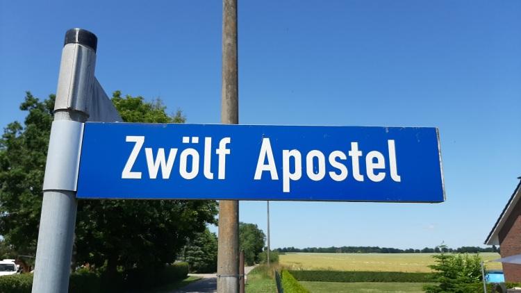 Wegweiser in der Gemeinde Wittendörp