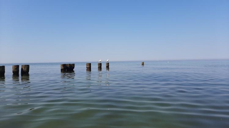 Am Ostseestrand bei Stolper Ort